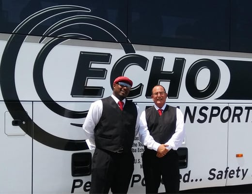 The friendly staff at Echo Transportation will safely transport your church or church group to any event