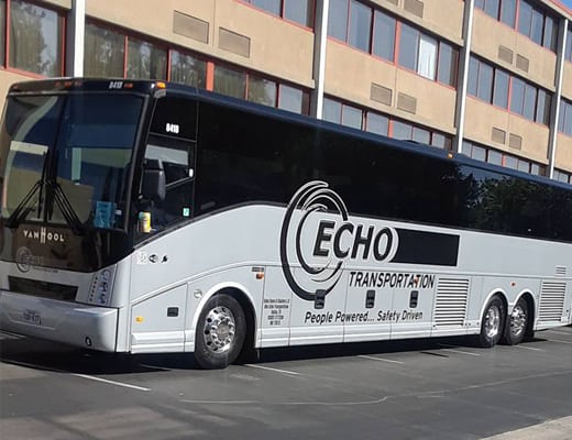 Echo Transportation trusted for a school trip to Orderville, UT